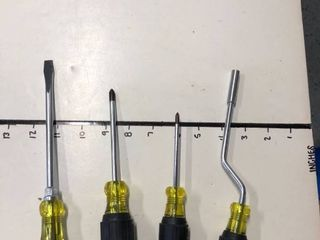 New Klein screwdrivers