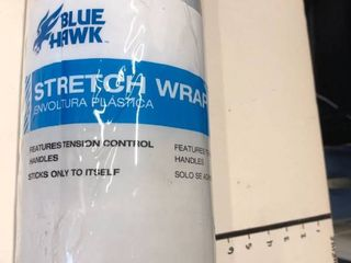 Blue Hawk stretch wrap