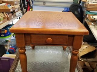 Side table with drawer 21 x 25 x 22