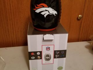 Scentsy NFl Denver Broncos warmer  new in box