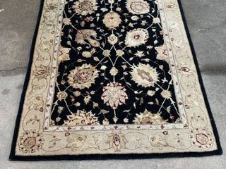Wool rug 3 ft  9  by 5 ft  9