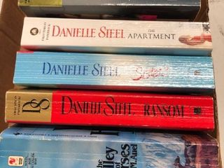 Danielle Steele softback books