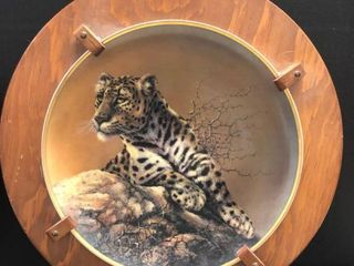 Sheena and Cubs Collectible plates