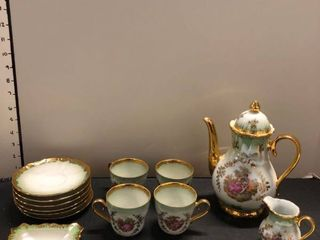 Kunst Palette collectible tea pot set