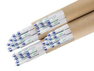 lightwise 4 Feet 6500k T5 Ho Fluorescent Grow light Bulbs   Pack of 40  6500k   Blue   Veg