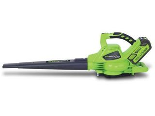 Greenworks 40V GMAX Digipro Brushless Blower with 4 0Ah Battery and