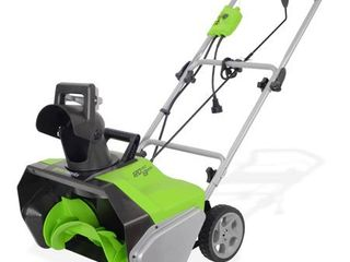 Greenworks 20 Inch 13 Amp Corded Snow Thrower 2600502