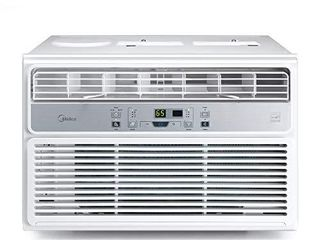 MIDEA EasyCool Window Air Conditioner   Cooling  Dehumidifier  Fan with remote control   6 000 BTU  Rooms up to 250 Sq  Ft   MAW06R1BWT Model