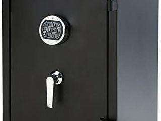 Fire Resistant Box Safe  2 1 Cubic Feet   YB 66YlA F retail price  304 66