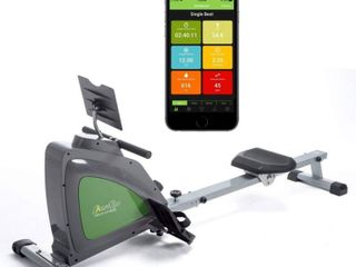 ShareVgo Smart Rower Folding Magnetic Rowing Machine with Free APP for Indoor Full Body Workout log and Performance Track  Bluetooth lCD Monitor   Tablet Holder  Max Weight 300 lbs Ergometer   SRM1000 retail price  458 07