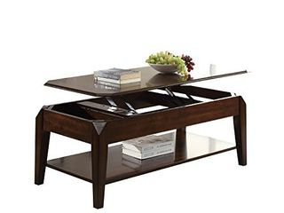 ACME Furniture Acme 80660 Docila Coffee Table with lift Top  Walnut