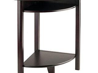 Winsome liso Corner Desk  Espresso