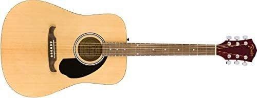 Fender FA 125 Dreadnaught   Maple Fingerboard   Walnut Fingerboard   with Case