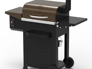 Z Grills ZPG 700E Wood Pellet Grill   Smoker 8 in 1 BBQ Auto Temperature Updated Model 700 sq in Stainless