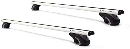 Roof Rack Crossbars Raised Side Rail Gap Needed   Mounts to The Rooftop of Your Car or SUV
