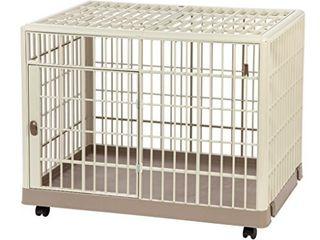 IRIS Extra small Plastic Animal Cage  Tan