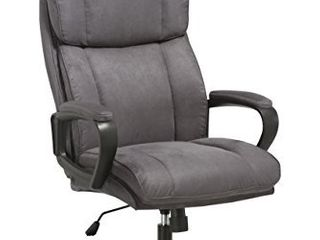 OFM ESS Collection Plush High Back Microfiber Office Chair  in Gray  ESS 3081 GRY
