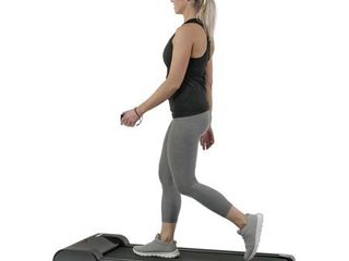 Sunny Health   Fitness Walkstation Slim Flat Treadmill for Under Desk and Home   SF T7945 Remote missing
