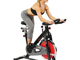 Sunny Health   Fitness Spin Bike Belt Drive Indoor Cycle Exercise Bike   SF B1002