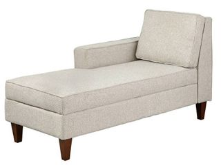 Simple living Ginger Storage Chaise  INCOMPlETE ITEM