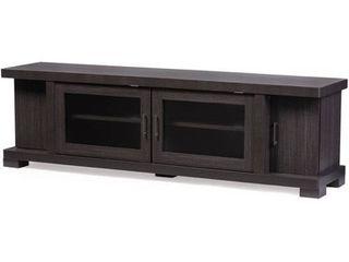 Baxton Studio Viveka Wood TV Cabinet  INCOMPlETE ITEM