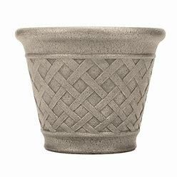 Style Selections Geometric Outdoor Planter