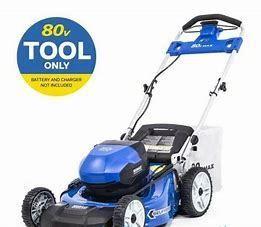 Kobalt 80v Max Self Propelled Electric lawn Mower
