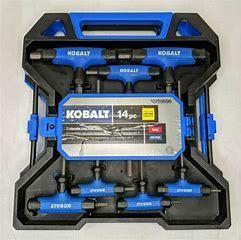 Kobalt T Handle Hex Key Set   MISSING PIECES   SAE BACK