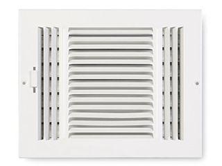 Accord Sidewall Ceiling Register w  3 Way Design