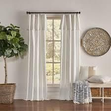 mercantile drop cloth curtain panels 84in