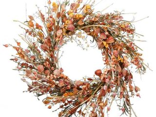 22  Autumn Wild Flowers Wreath
