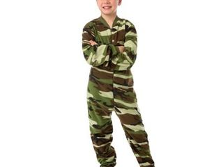 Big Feet Pjs Kids Green Camo Fleece Boys Footed Pajamas One Piece Sleeper