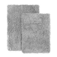 Porch   Den lorena Shaggy  Non slip Rubber Backed Bath Rug