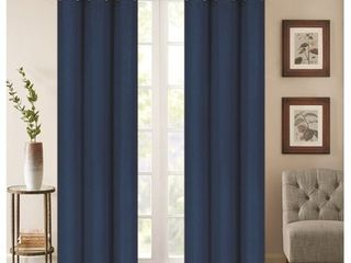 Denver Embossed Blackout 84 inch Curtain Panel Pair