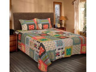 Rizzy Home Felicity Charleston Farmhouse Quilt  Retail 173 99 king