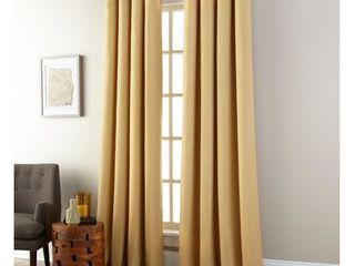 Nanshing Janie Grommet Single Curtain Panels Gold  52 x 84