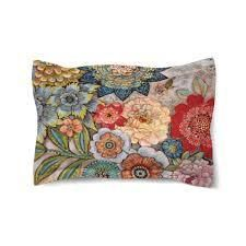 Boho Bouquet Comforter Shams