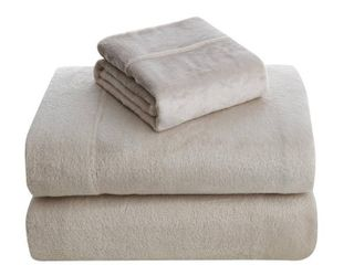 Asher Home Ultra Soft Velvet Plush Sheet Set full