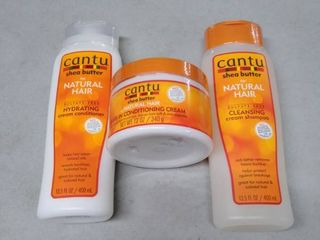 cantu for natural hair items set of 3