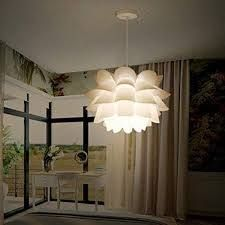 Pendant lamp Assembly lotus Chandelier Ceiling Pendant   14 17 x14 17 x0 08  Retail 99 99
