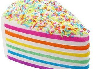 Squishies Cake Rainbow Jumbo Slow Rising