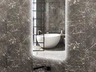 TokeShimi 24 x 36 Inch lED Backlit Mirror Bathroom Vanity Mirror with lights Dimmable Wall Mounted Bath Mirror Anti Fog