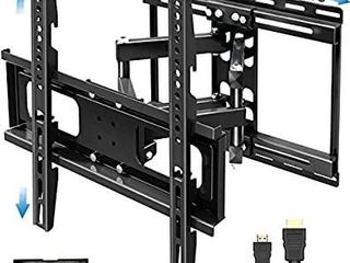 JUSTSTONE TV Wall Mount Full Motion for 32 65 Inch Flat Screen Curved TVs