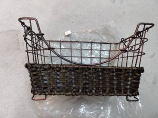 Set of 3 Rustic Baskets
