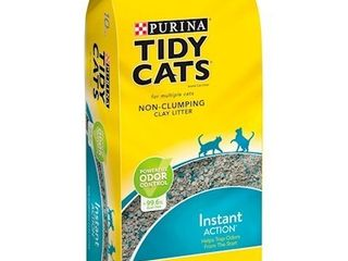Purina Tidy Cats Non Clumping Cat litter  Instant Action low Tracking Cat litter   10 lb  Bag