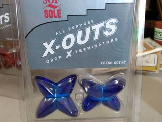 Sof Sole Sneaker Balls X outs Odor X terminators Shoe Bag locker Deodorizer