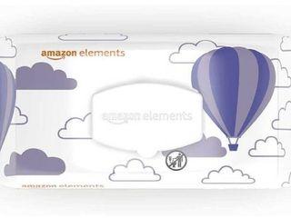 Amazon Elements Baby Wipes  Advanced Sensitive  180 Count