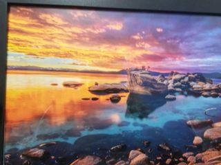 Poster Foundry Rocky lake at Sundown
