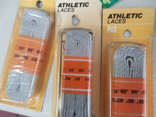 Athletic lace Flat 63  Gray Set of 3