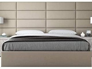 VAnt Upholstered Wall Panels   Queen Full Size Wall Mounted Headboards